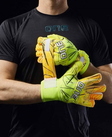 Goalkeeper gloves One Gloves yellow