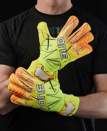 Goalkeeper gloves One Gloves hybrid cut