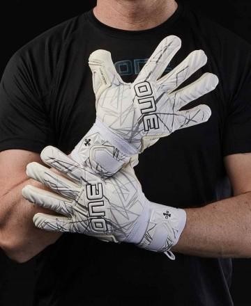 Guantes de portero One Gloves blancos