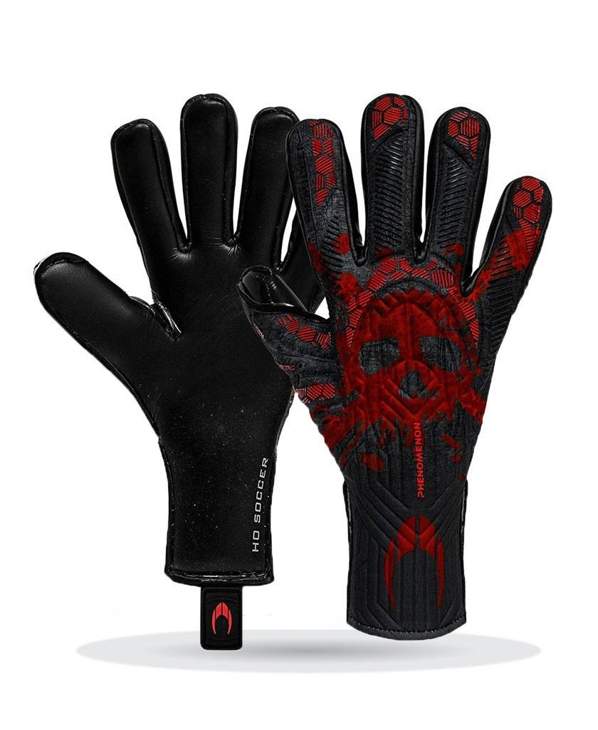 Guantes Ho Phenomenon Magnetic II Skull Red