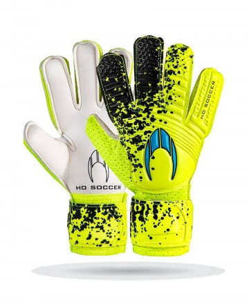 Goalkeeper gloves Ho Soccer Trainer Lime