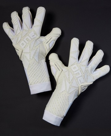 ONE goalkeeper gloves