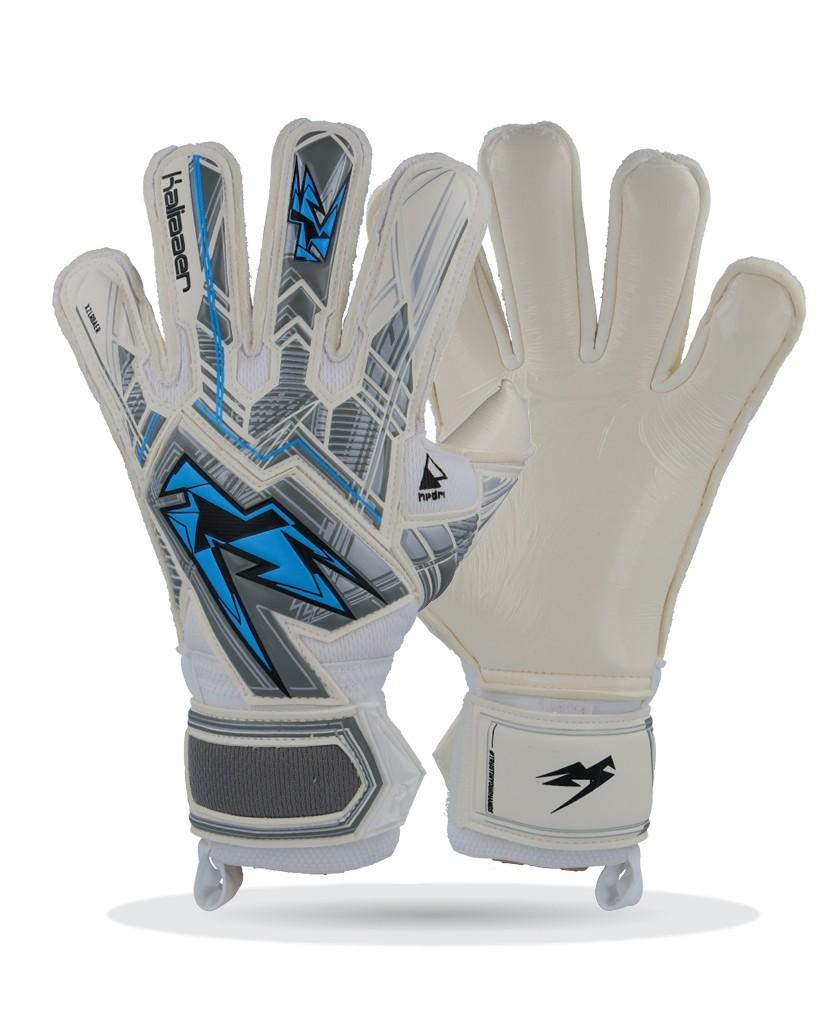 Kaliaaer Hybrid blue logo gloves