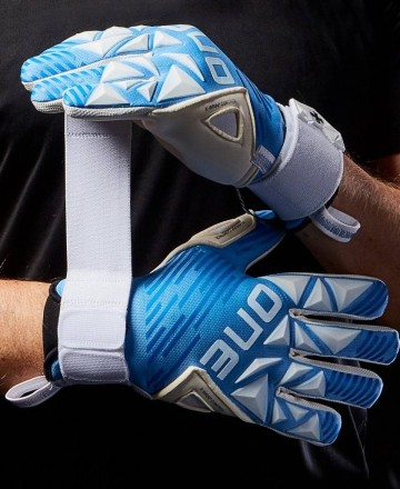 Buy One Gloves SLYR Lite Azure Goalkeeper Gloves