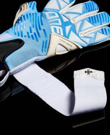 Blue Soccer Goalkeeper Gloves