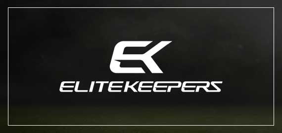 EK Elitekeepers soccer goalkeeper gloves brand logo